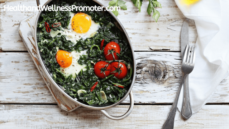 Ketogenic Egg And Spinach Casserole