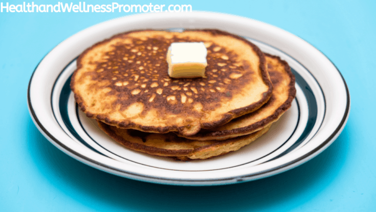 Quick Healthy Almond Pancakes