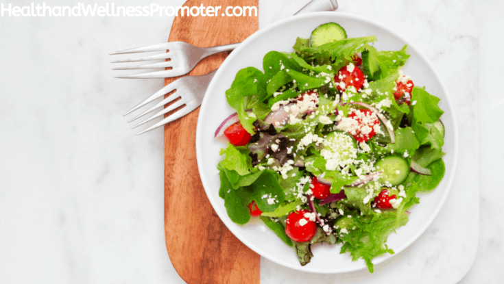 Romaine Feta Salad