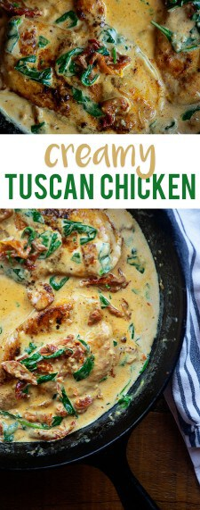 CREAMY TUSCAN CHICKEN BY THAT LOW CARB LIFE